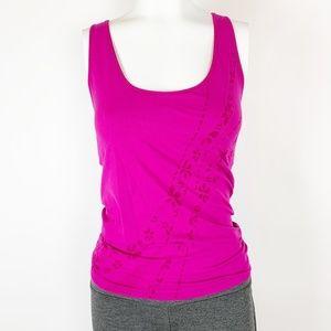 Nordstrom Zella Workout Bra Tank Cami Hot Pink M